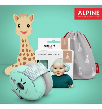 Casque Antibruit Bebe Alpine Muffy - Sophie