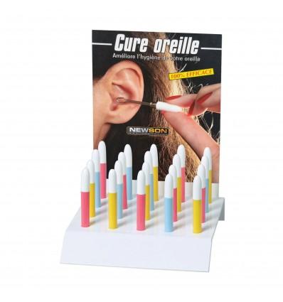 Présentoir de 20 Cure-oreilles