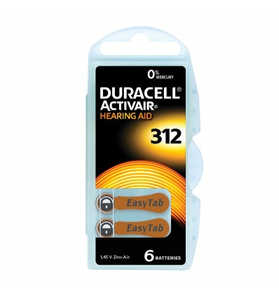 Pile 312 Duracell