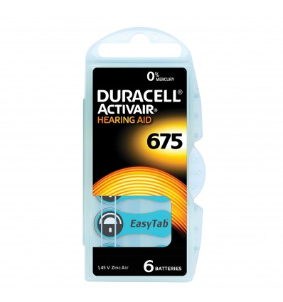 Pile 675 Duracell